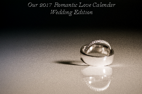 Romantic Love Calendar - Wedding Edition Cover