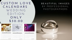 Love Calendar Wedding Edition