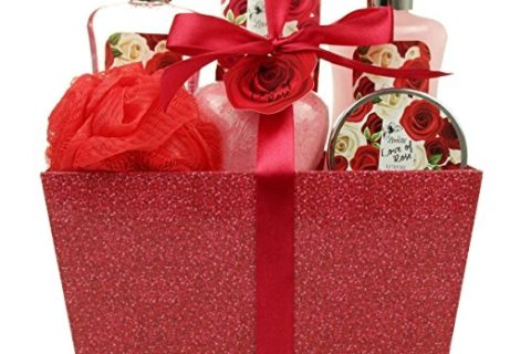 Love of Rose Spa Gift Basket