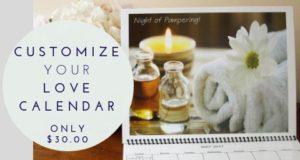 Custom Love Calendar