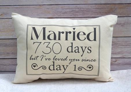 Pillow - Married Days