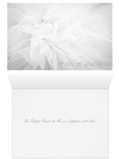 Wedding - I Do I Love You Perfect Present - Both