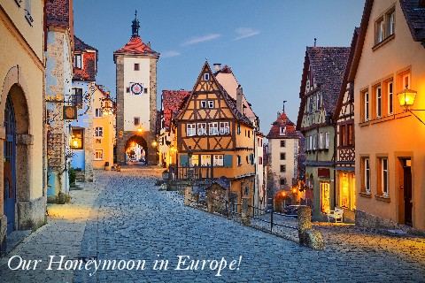 Honeymoon in Europe