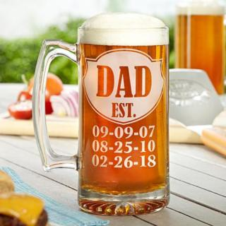 Father's Day Oversized Beer Mug